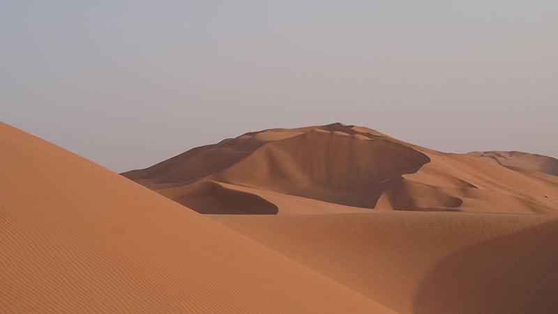 The Oman Empty Quarter - Rub' Al Khalif - red sands
