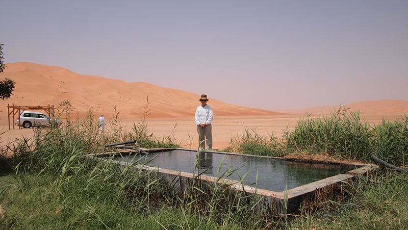 The Oman Empty Quarter - Rub' Al Khalif - Oasis