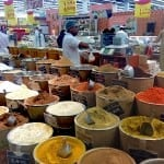 Fragrant spices in Muscat